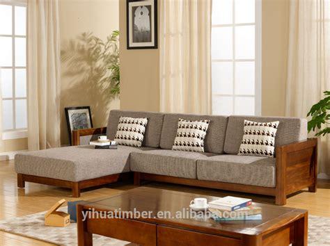 chinese style solid wood sofa design modern wood sofa