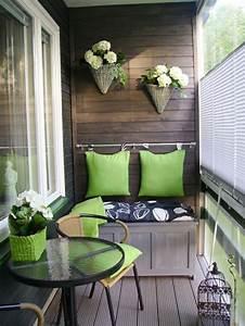 Salon Pour Balcon : 15 projets int ressants afin de mieux am nager son balcon design feria ~ Teatrodelosmanantiales.com Idées de Décoration