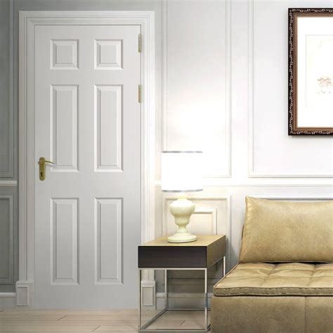 Regency 6 Panel Door  Smooth Surfaces, Primed