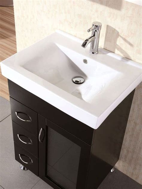 narrow bathroom vanities    inches  depth