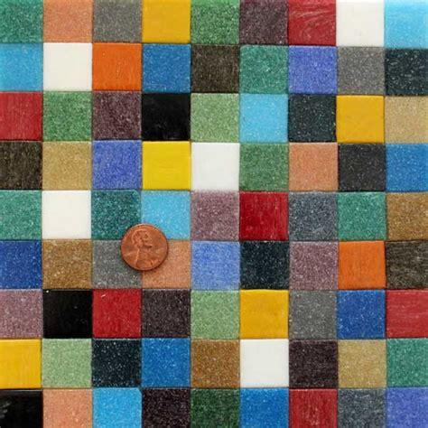 Hakatai Mosaic Glass Tile Mural by Rainbow Assortment Ab11