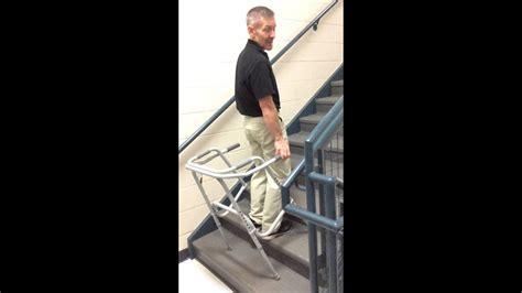 walker stair climbing