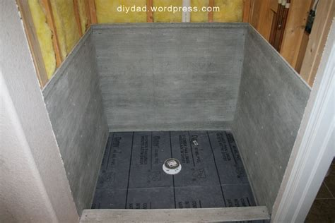 tile shower pan   DIY Dad