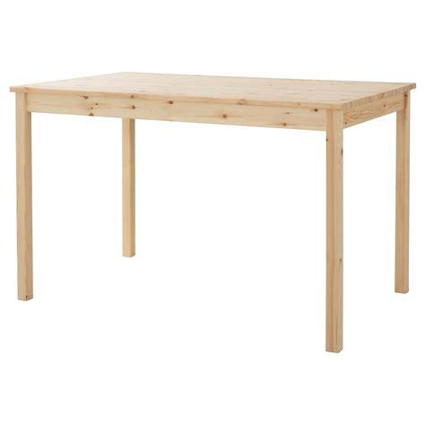 folding kitchen ingo table pine 120x75 cm ikea