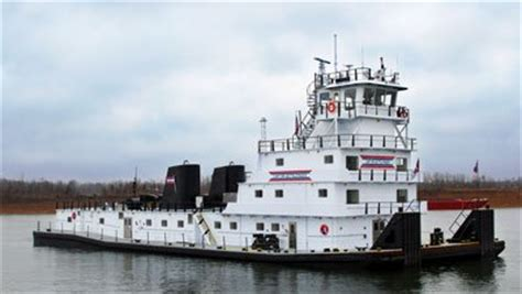 Tow Boat Company by Towboat Built In 1975 Gets New Engines New Pilothouse And