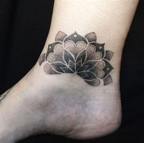 elegant ankle tattoos  women  style ankle