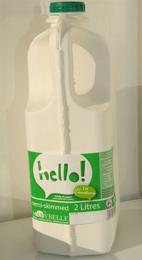 paper milk bottle    great british invention  retailer