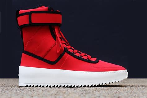 fear  god military sneaker infrared sneakerfiles