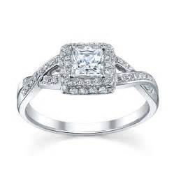 princess halo engagement rings 6 princess cut engagement rings she 39 ll robbins brothers