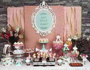 shabby chic girl spring floral bridal shower party With shabby chic wedding shower ideas