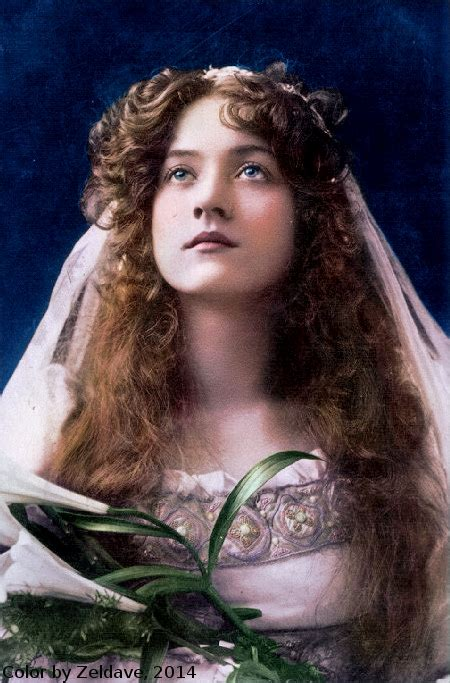 maude color actors of stage and silent screen c 1910 photo restore