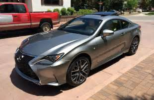 photo gallery lexus rc f sport in atomic silver lexus enthusiast
