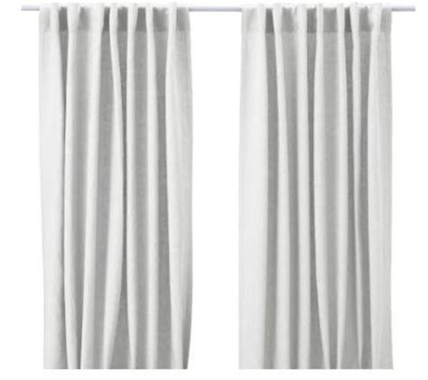 Ikea Aina Curtains Discontinued by Drapery Panels For A Gray Dining Room Driven By Decor