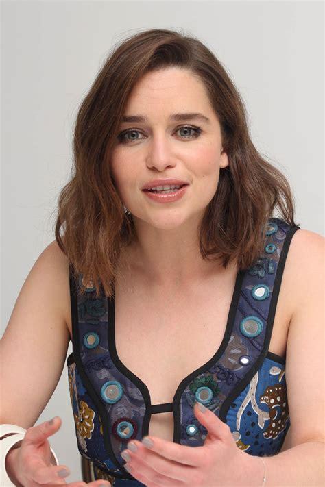 Emilia Clarke - Terminator Genisys Press Conference in Los ...