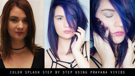 Hair Color Splash Using Pravana Vivids