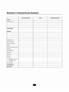 projected income statement template 2 free templates in With projected income statement template excel