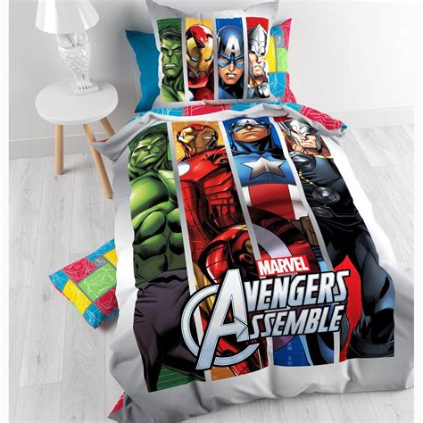 official avengers marvel comics bedding bedroom