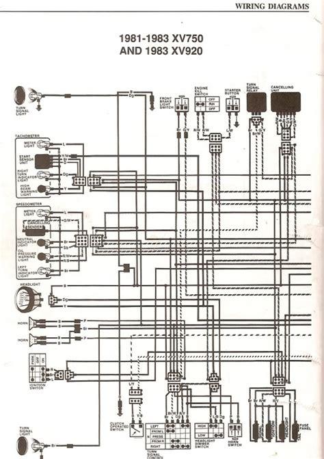 Simplified Wiring Furthermore Yamaha Diagram