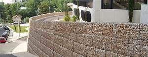 Mur De Soutenement En Gabion : mur en gabion france maccaferri ~ Melissatoandfro.com Idées de Décoration