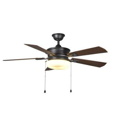 hton bay transitional collection ceiling fan home decorators collection lake george 54 in indoor
