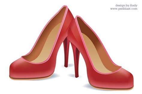 High heel shoe icon, vector graphics - 365PSD.com