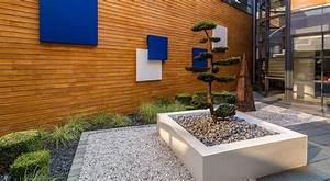 Jardin En Carré : amenagement jardin exterieur patio accueil design et ~ Premium-room.com Idées de Décoration