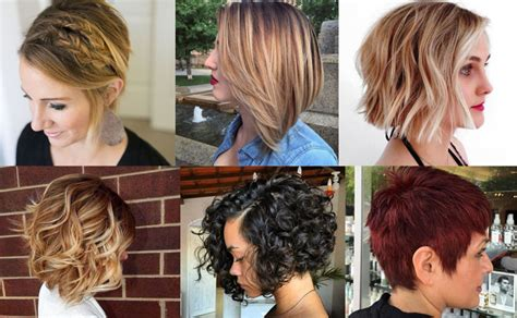 short hairstyles haircuts  bobs pixie ombre balayage