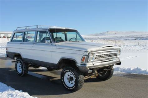 1970 jeep grand wagoneer sell used 1970 jeep wagoneer 350 v 8 buick dauntless