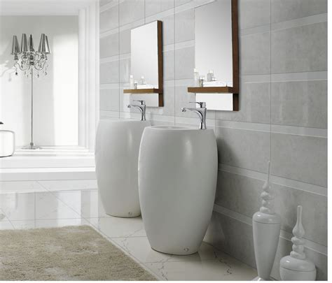 Modern Pedestal Sink  Contemporary Pedestal Sink Vinci