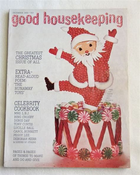 vtg good housekeeping holiday christmas issue december