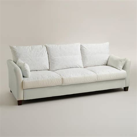 World Market Charcoal Luxe Sofa by Luxe 3 Seat Sofa Frame World Market
