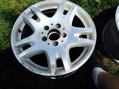 Aluminum Wheels Polish Refinish Wheel Before Mbworld