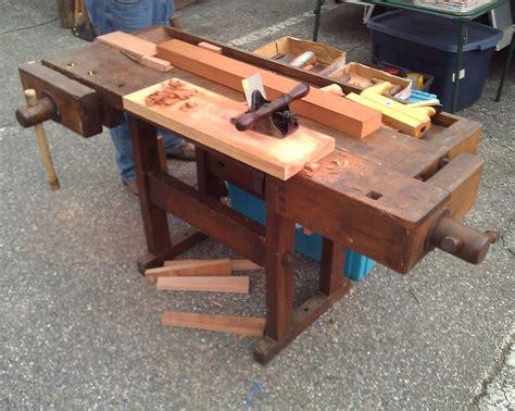 antique workbench  sale craigslist  woodworking