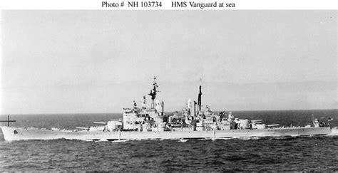 hms vanguard  fast battleship image pic