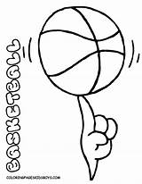 Coloring Sports Basketball Printable Sport Colouring Winter Spinning Syracuse Preschool Equipment Boys Spin Balls Yescoloring Ball Comments Game Template sketch template