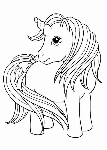 Coloring Pages Unicorn Printable Sheets Printables Rainbow