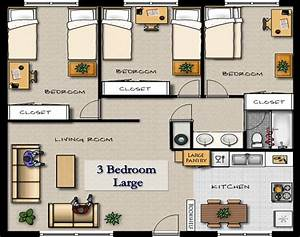 luxury apartment floor plans 3 bedroom luxury apartments With three bedroom apartment planning idea