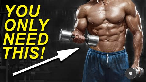 min full body workout  dumbbells build muscle