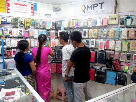furiously changing yangon midday traffic jams   mobile