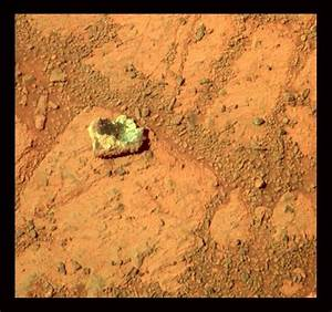 The Rock that Appeared Out of Nowhere on Mars
