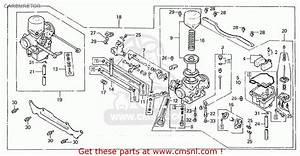 Honda Cx500 1981  B  England Carburetor
