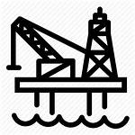 Rig Icon Drilling Oil Gas Platform Industry