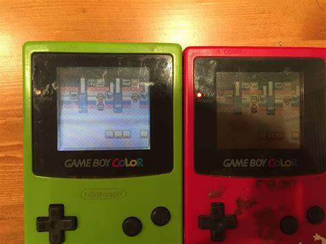 gameboy color mods boy color frontscreen mod