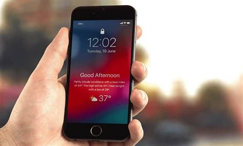 how to add the secret weather widget to your iphone s lock