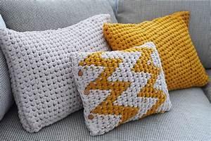Aus Gmail Abmelden : gro es h kel kissen aus textilgarn omniview dein diy blog ~ Eleganceandgraceweddings.com Haus und Dekorationen