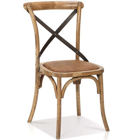 reva cross back dining arm side chair