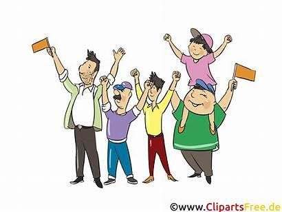 Menschen Demonstration Cliparts Menschenbilder Clipart Ludzie Folk