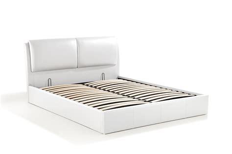 canapé convertible 160x200 cushion lit coffre 160x200 blanc
