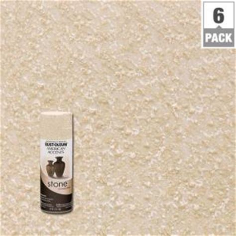 rust oleum american accents 12 oz bleached textured finish spray paint 6