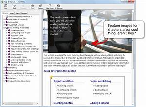 Help Manual Authoring Software  User Interface Screenshots